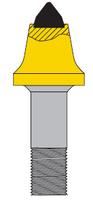 Maxigrind 425/460 Bullet Hammer Tips (bolt/nut)