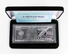 $100 4 oz Silver Franklin Proof