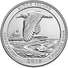Rhode Island Block Island National Park Quarter P Mint - 2018
