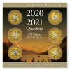 2020-2021 24kt gold plated annual quarter collection