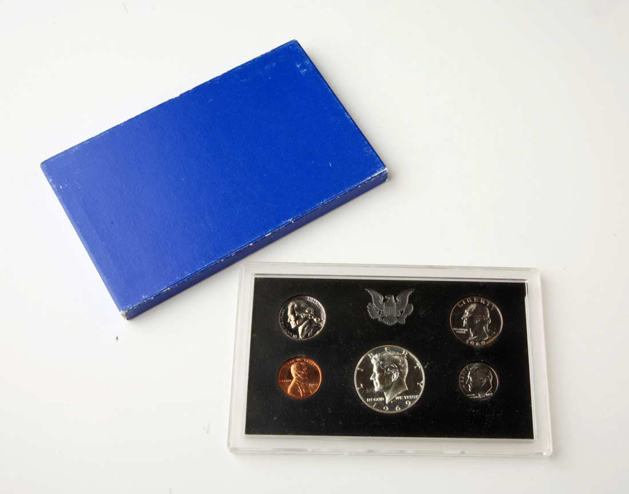 1969-S  US  Proof Set with Box  Price per Each Proof Set  photos  Free Shipping