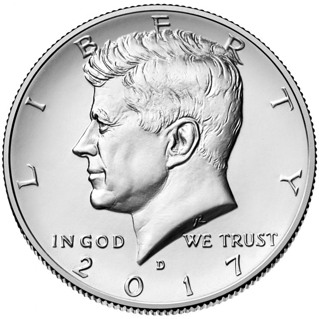 2017-P Kennedy Half Dollar Uncirculated. US