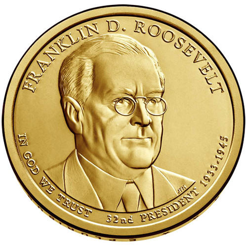 Franklin D. Roosevelt $1 D Mint Single Coin