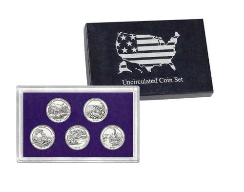 2014 Five Quarter Uncirculated Set