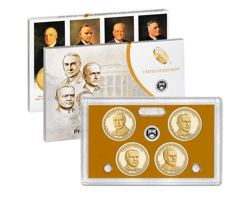 2014 Presidential $1 Coin Proof Set