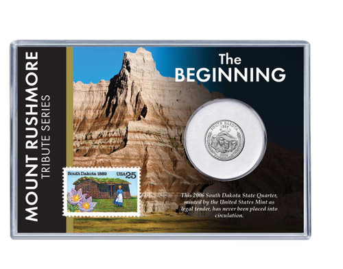Mt. Rushmore Series: The Beginning Coin and Stamp Set