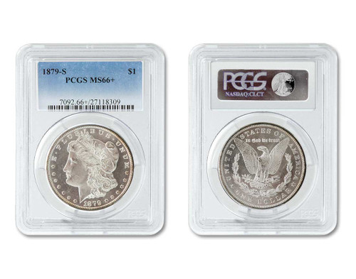 The High Plains Collection-Certified MS66 Morgan Dollar