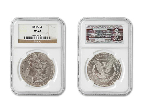 The Eastwood Collection-Certified MS64 Morgan Dollar