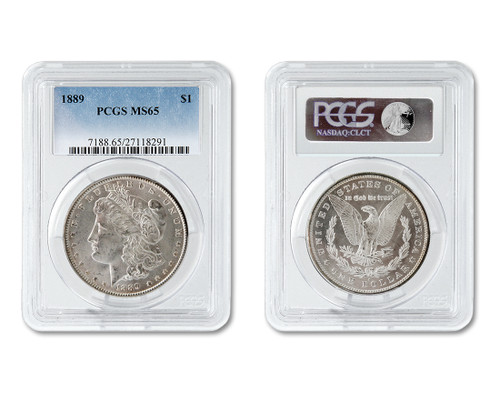 The Gunslinger Collection-Certified MS65 Morgan Dollar
