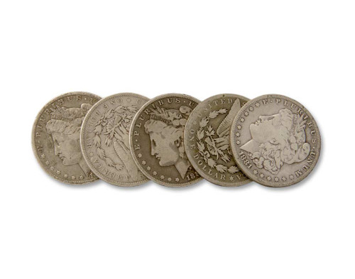 The Saloon Collection-Circulated Morgan Dollar