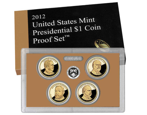 2012 Presidential $1 Coin Proof Set