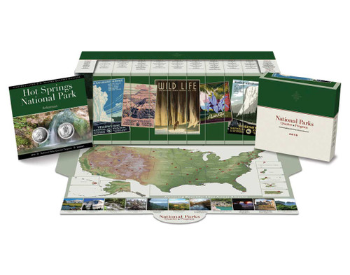 National Parks Quarter Collector Box