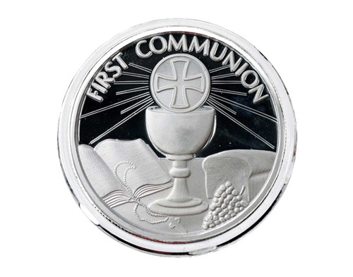 Communion Commemorative .999 Silver Coin