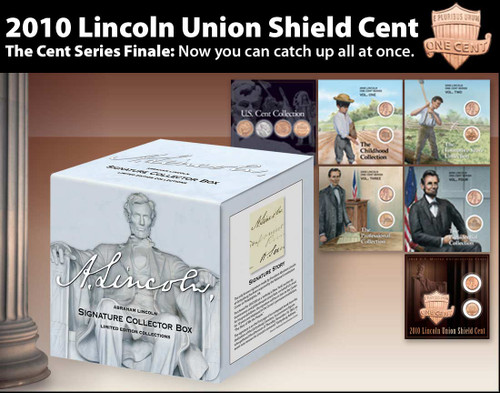 Lincoln Cent 100 Year History Kit