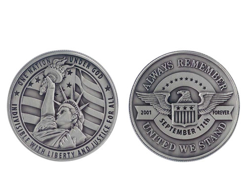 9/11 Commemorative Challenge Coin Collection