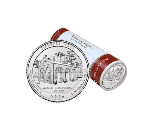 Harpers Ferry National Historical Park P Mint Quarter Roll