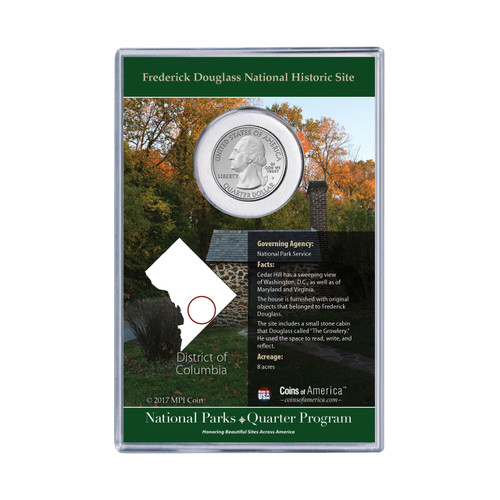 Frederick Douglass National Historical Site Coin Stamp Set