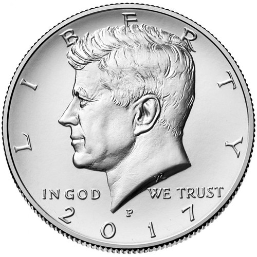 2017 Kennedy Half Dollar - D Mint