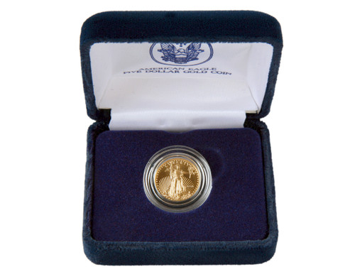 2019 American Eagle $5 Gold Coin