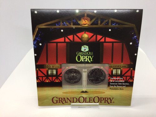 Grand Ole Opry Tennessee Quarter Collection