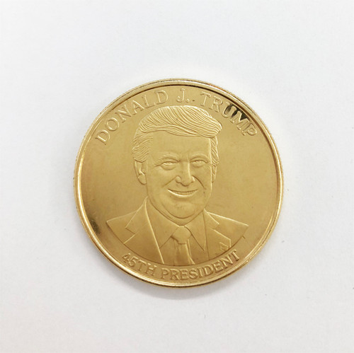 Photo of Trump Commemorative Coin