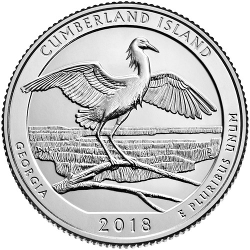 Georgia Cumberland National Park Quarter D Mint