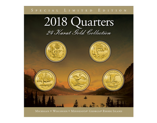 2018 24Kt gold Annual Quarter Collection