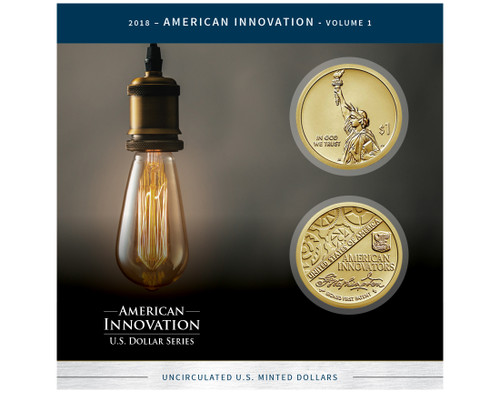 American Innovations Patent Dollar Collection