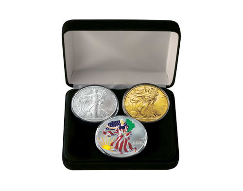 2019 American Eagle 3-Coin Set