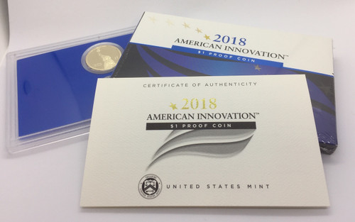 2018 American Innovation $1 Coin Proof Set