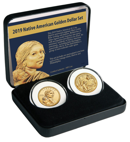 2019 Native American Dollar 2 Coin Set - Both Mints (C0053)