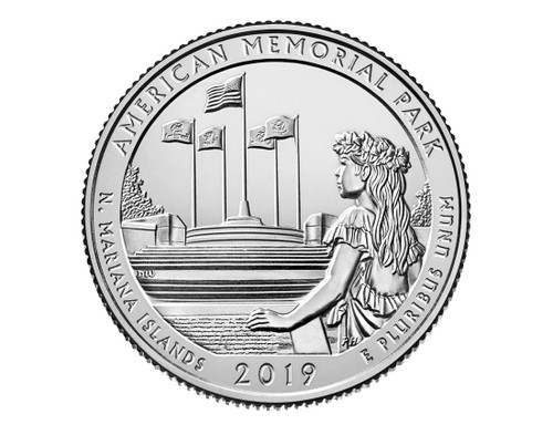 Northern Mariana Island American Memorial National Park P Mint Quarter