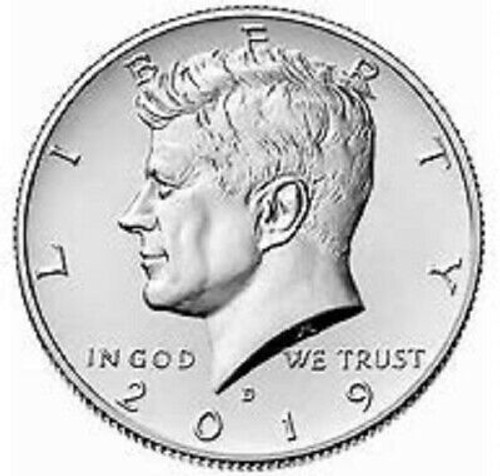 2019 Kennedy Half Dollar Uncirculated D Mint