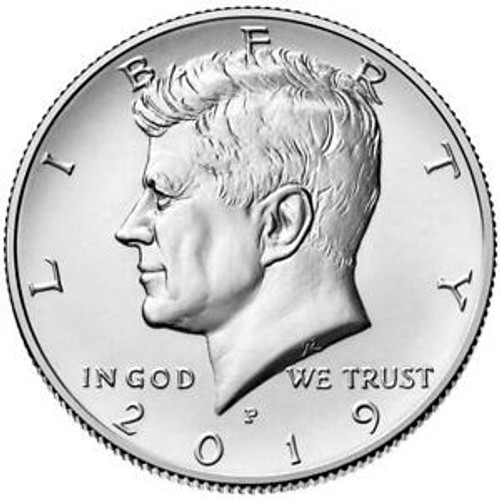2019 Kennedy Half Dollar P Roll