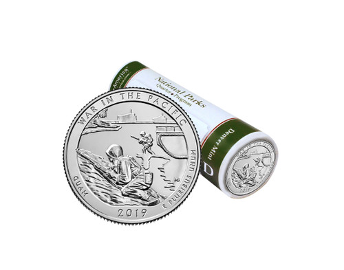 Guam War in the Pacific National Historical Park D  Mint Quarter Roll