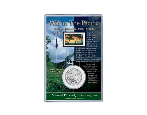 Guam War in the Pacific National Historical Park Coin& Stamp Set