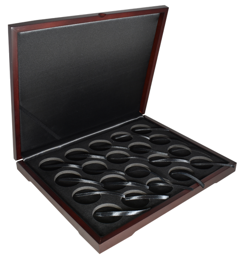 20 pc Wood Display Box For Eagles and other silver rounds