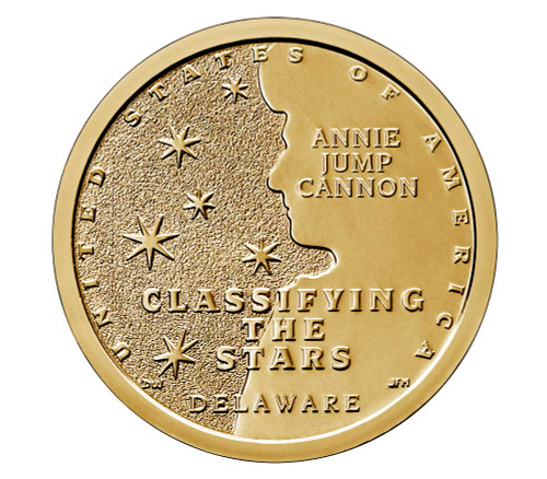 American Innovations Uncirculated Dollar Philadelphia Mint-Annie Jump Cannon Classifying the Stars