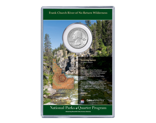 Idaho Frank Church River of No Return National Park Coin & Stamp Set