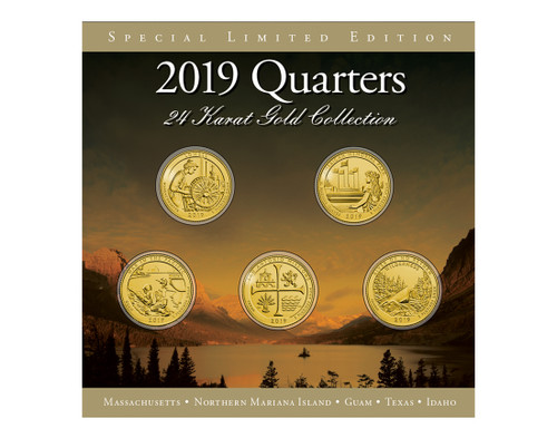 2019 24Kt Gold Annual Quarter Collection