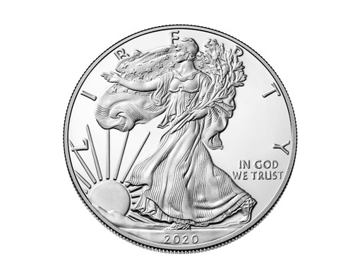 2020 Silver Eagle in Airtight