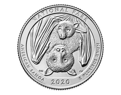 American Samoa National Park Quarter D mint