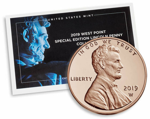 2019 W Mint Penny with Envelope