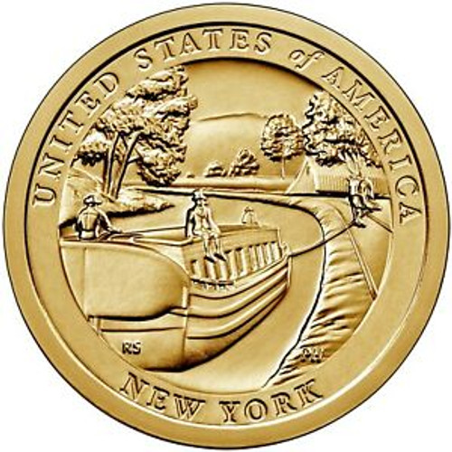 American Innovations Uncirculated Dollar Philadelphia Mint NY Erie Canal