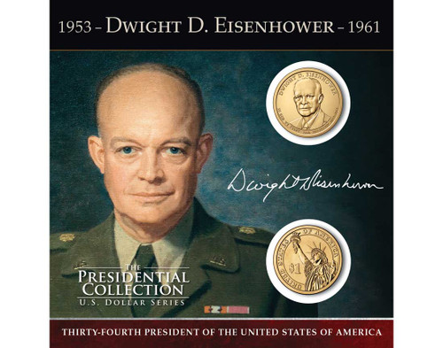 Dwight D. Eisenhower $1 Coin Collection