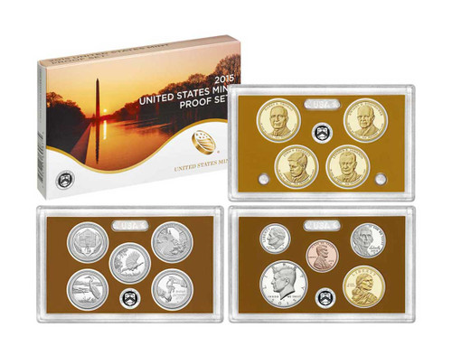 2015 United States Mint Proof Set