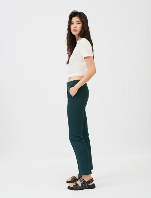 Maje Straight-cut suit trousers