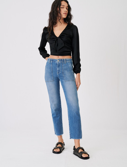 Maje Womens Jeans Low rise