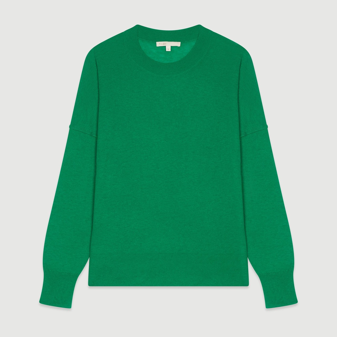 Oversize Sweater In Cashmere - Green