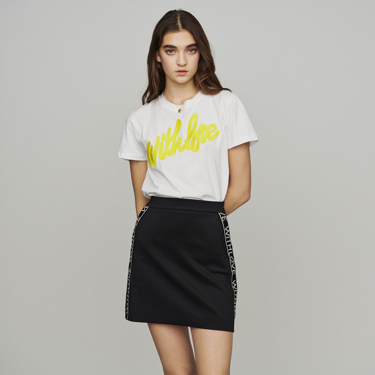 Maje Just Skirt